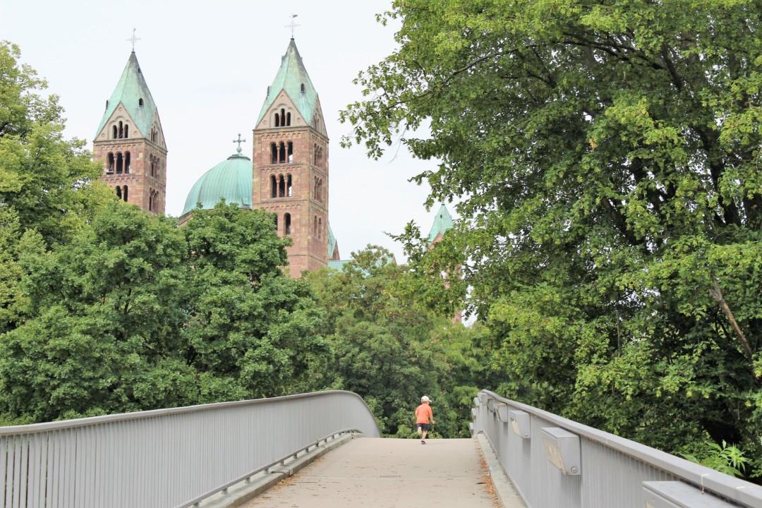 Stadt Speyer Innenstadt Dom