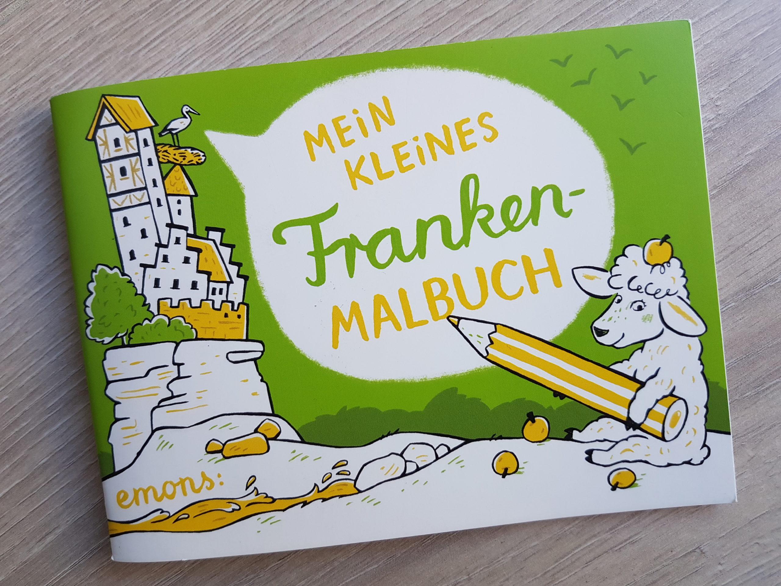Verlosung - Mein kleines Franken Malbuch