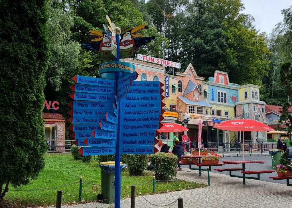 Freizeitpark Geiselwind Fun Street